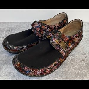 Alegria Dream Fit Brenna Garland Slip On Shoes 42